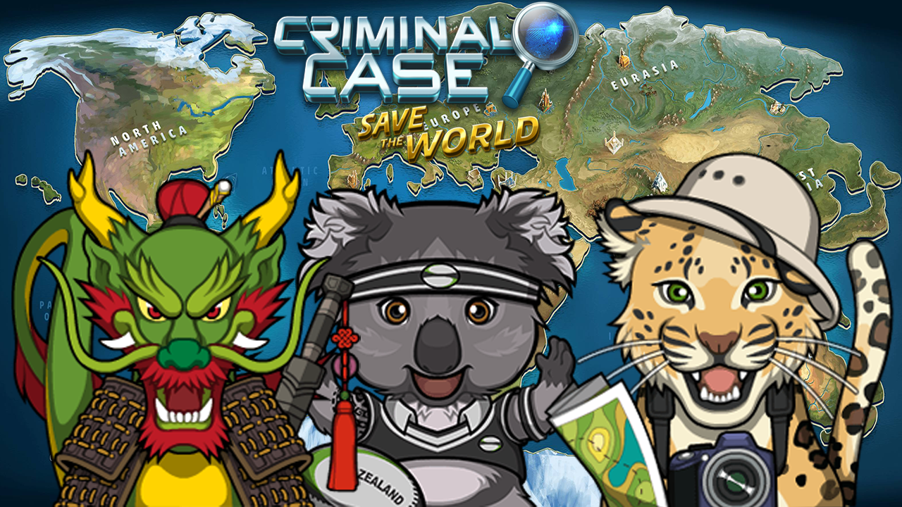 Criminal Case Save The World Feed Pets