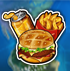 Criminal Case Save The World burger